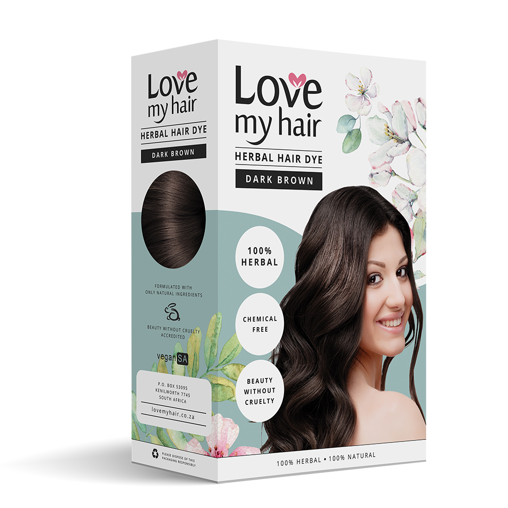 75e5c8ffbf215 DARK BROWN – 100% Herbal hair dye - Love My Hair